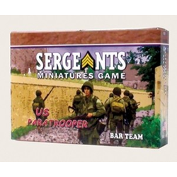 Sergeants Miniature Game: US BAR Team