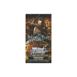 Weiβ Schwarz: Attack on Titan Booster Pack