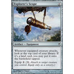 Magic löskort: Conspiracy: Explorer's Scope