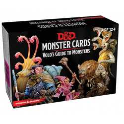 D&D 5.0: Monster Cards - Volo's Guide to Monsters