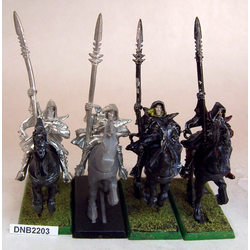 Dark Elf Dark Riders (4st, metall)