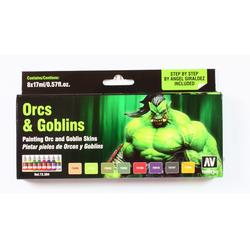 Vallejo Paint Set Orcs & Goblins