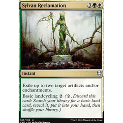 Magic löskort: Commander Anthology 2018: Sylvan Reclamation