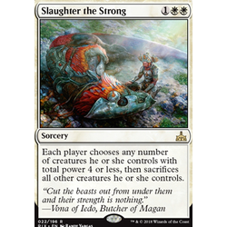 Magic löskort: Rivals of Ixalan: Slaughter the Strong