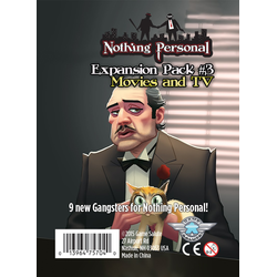 Nothing Personal: Expansion Pack 3 Movies and TV