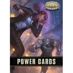 Savage Worlds RPG: Powers Cards