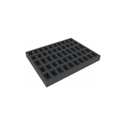 Feldherr Full-size 35mm Cut-Outs - 50 slot foam tray with base