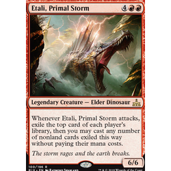 Magic löskort: Rivals of Ixalan: Etali, Primal Storm