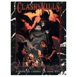 Vampire: The Dark Ages: Clash of Wills (Begagnad) )