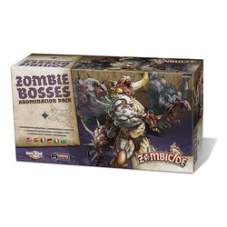 Zombicide: Black Plague - Abomination Pack / Zombie Bosses