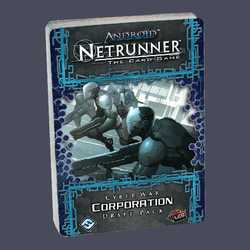 Netrunner LCG: Cyber War Corporation Draft Pack POD