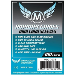 Mayday Mini Euro Card Sleeve (100) 45mm x 68mm