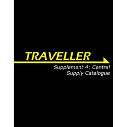 Traveller 3rd ed: Supplement 4 Central Supply Catalogue