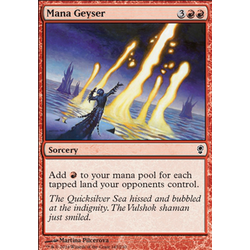 Magic löskort: Conspiracy: Mana Geyser