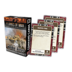 Flames of War: Afrika Corps Command Cards