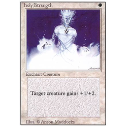 Magic löskort: Revised: Holy Strength
