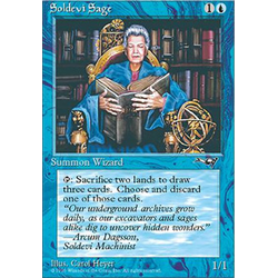 Magic löskort: Alliances: Soldevi Sage v.2