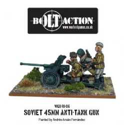 Soviet 45mm Anti Tank Gun