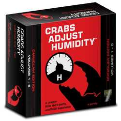 Cards Against Humanity: Crabs Adjust Humidity Omniclaw Edition (1-5)