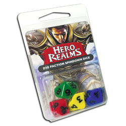Hero Realms: 16mm D10 Faction Spindown Dice (4)