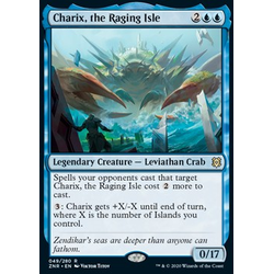 Magic löskort: Zendikar Rising: Charix, the Raging Isle