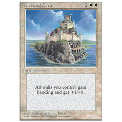 Magic löskort: 4th Edition: Fortified Area