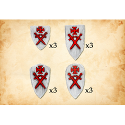 Fireforge: Livonian Order Shields 2