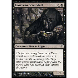 Magic löskort: Coldsnap: Krovikan Scoundrel