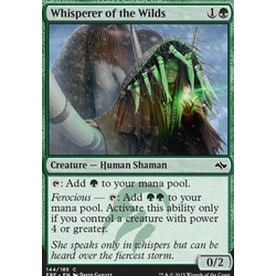 Magic löskort: Fate Reforged: Whisperer of the Wilds