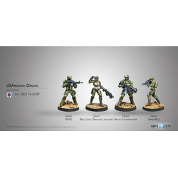 Ariadna - USAriadna Grunts (Box of 4)