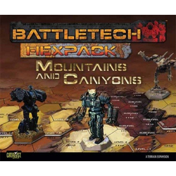 BattleTech: HexPack: Mountains and Canyons