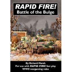 Battle of the Bulge - Supplement for Rapid Fire WW2 rules