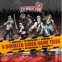 Zombicide: Core Set Double Sided Game Tiles (9)