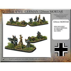 German 120mm Mortar Teams