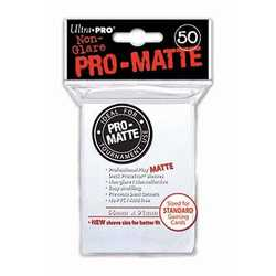 Ultra Pro Deck Protector Sleeves Pro-Matte White (50st)