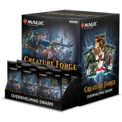 Magic: The Gathering Creature Forge: Overwhelming Swarm Display (24)