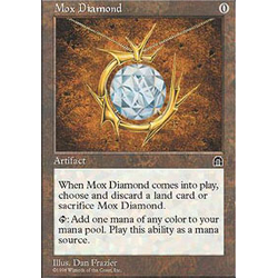 Magic löskort: Stronghold: Mox Diamond