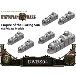 Empire of the Blazing Sun Uwatsu Class Frigates (6)