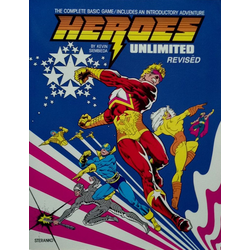 Heroes Unlimited: Revisited Core Rulebook