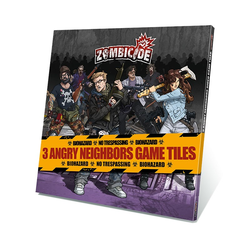 Zombicide: Angry Neighbours Mall Game Tiles (3)
