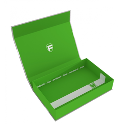 Feldherr Magnetic Lock Box half-size 55mm green empty