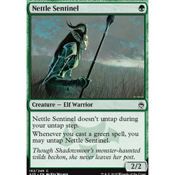 Magic löskort: Masters 25: Nettle Sentinel