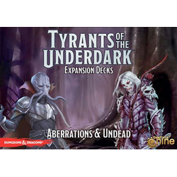 Tyrants of the Underdark: Aberrations & Undead - Expansion Decks