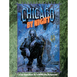 Vampire: The Masquerade: Chicago by Night (Begagnad) )