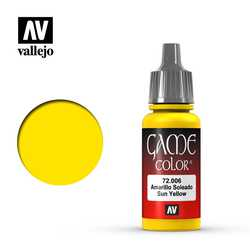 Vallejo Game Color: Sun Yellow