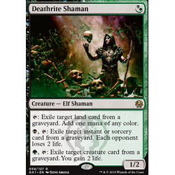 Magic löskort: Guild Kits: Deathrite Shaman