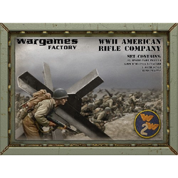 15mm WWII Late War American Infantry Company