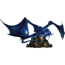 Icons of the Realms: Sapphire Dragon Premium Figure
