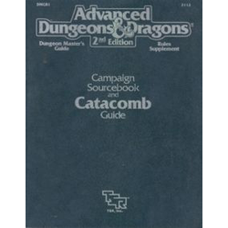 ADD 2nd ed: Campaign Sourcebook and Catacomb Guide