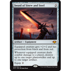 Magic löskort: Modern Horizons: Sword of Sinew and Steel